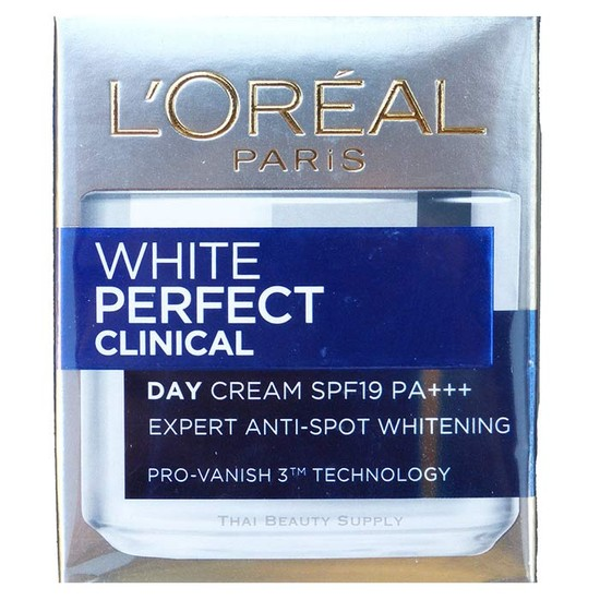 L'Oreal Paris White Perfect Clinical Day Cream SPF 19 PA+++ ( 50ml )