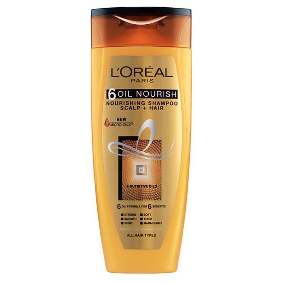 L'Oreal Paris 6 Oil Nourish Shampoo (360 Ml)