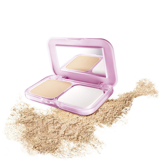 Maybelline ClearGlow All In One Fairness Compact Powder Nude Beige 02 SPF 32 PA+++