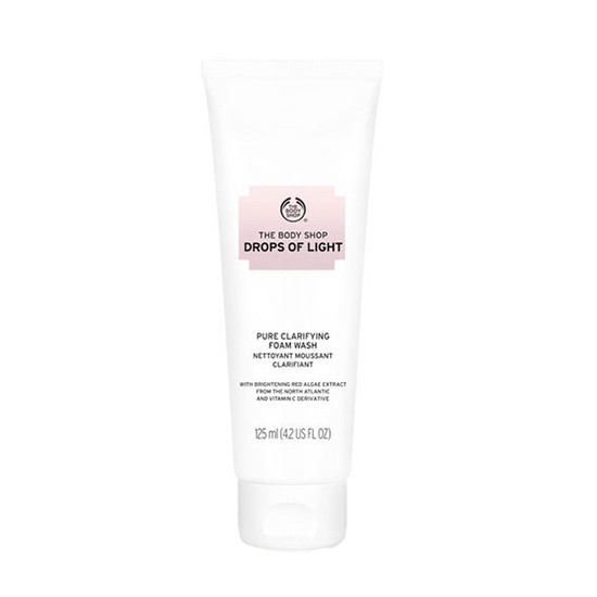 The Body Shop Drops Of Light Brightening Cleansing Foam (125 Ml)