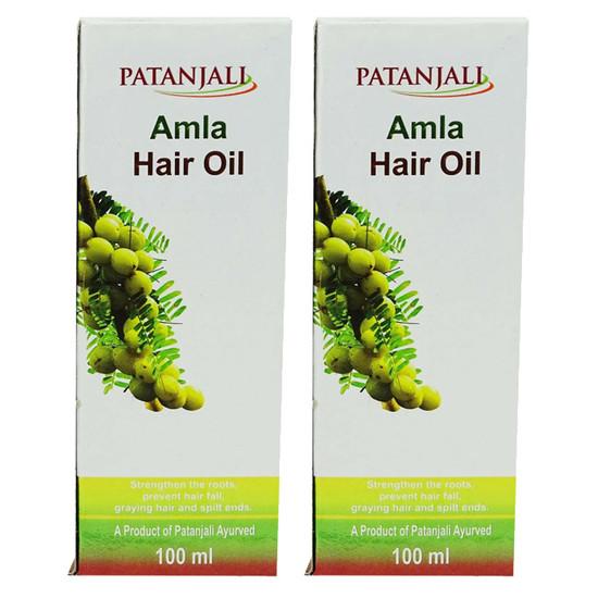 Patanjali Amla Hair Oil (100 Ml) Pack Of 2