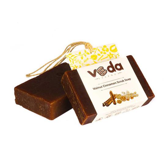 Veda Essence Walnut Cinnamon Scrub Soap (125 G)