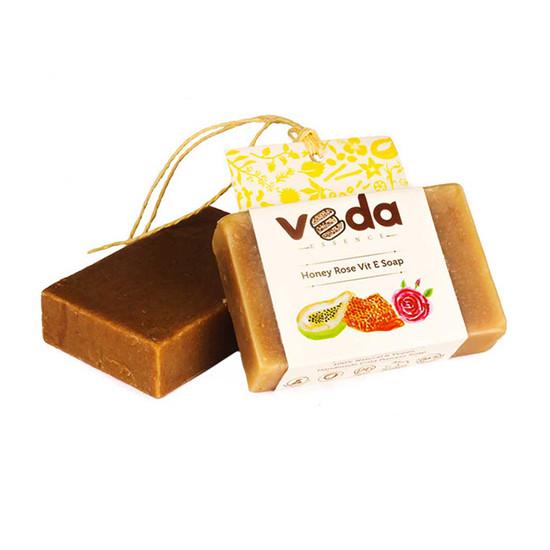 Veda Essence Honey Rose Vit E Soap (125 G)