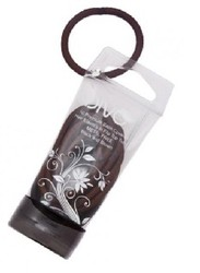 Divo Hair And Nail Accessories 10 Premium Elastics Black Brown