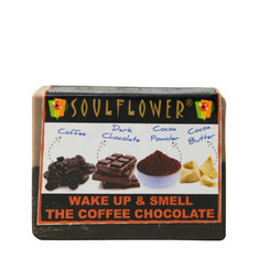 Soulflower Soap Wake Up And Smell The Coffee Chocolate (150 g)