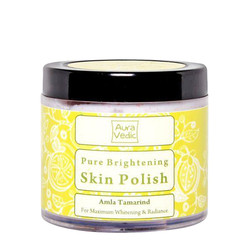 Auravedic Face Care Skin Brightening Polish With Amla And Tamarind (100 G)