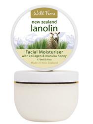 Wild Ferns Lanolin Facial Moisturiser With Collagen & New Zealand Manuka Honey (175 Ml)