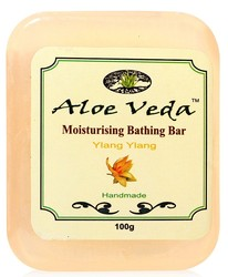 Aloe Veda Moisturising Bathing Bar Ylang Ylang (100 G)