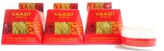Vaadi Herbals  Anti Ageing Cream Almond, Wheatgerm Oil & Rose (30 g x 3)