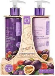 Grace Cole Passion Fruit & Guava Cleansing & Nourishing Hand Care Duo Hand Wash & Hand Lotion