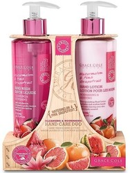 Grace Cole Watermelon & Pink Grapefruit Cleansing & Nourishing Hand Care Duo Hand Wash & Hand Lotion