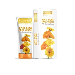Richfeel Anti Acne Face Wash With Calendula Extracts (100 G)