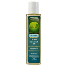Rustic Art Organic Coconut Oil For Hair And Skin (200 Ml)