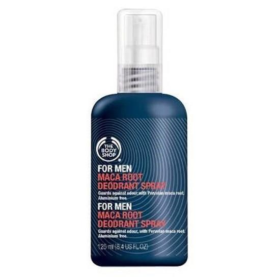 The Body Shop For Men Maca Root Deodorant Spray(125 Ml)