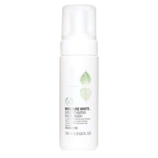 The Body Shop Moisture White Shiso Foaming Facial Wash(150 Ml)