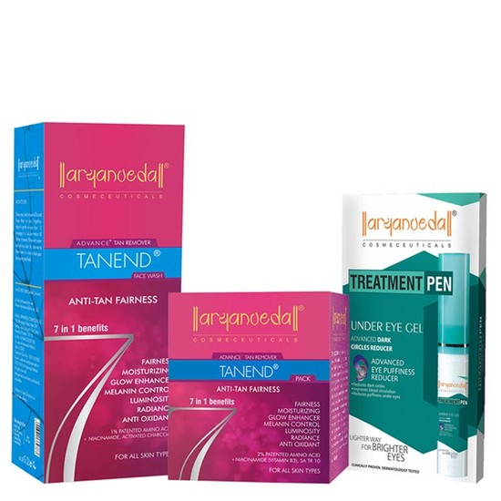 Aryanveda Advance Treatment For Fairness Combo Pack (118 Ml)