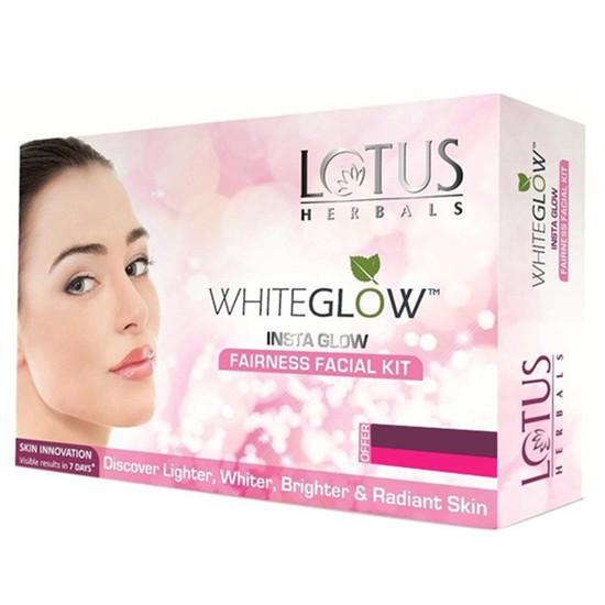 Lotus Herbals White Glow Insta Glow Fairness Facial Kit