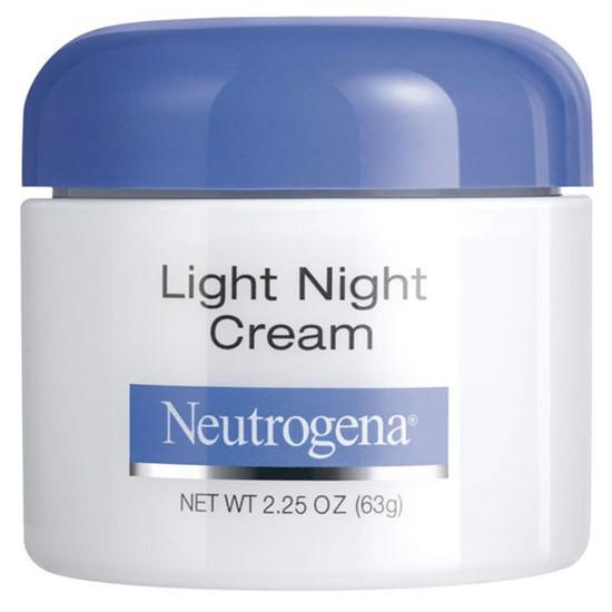 neutrogena light night cream 63 g. Black Bedroom Furniture Sets. Home Design Ideas